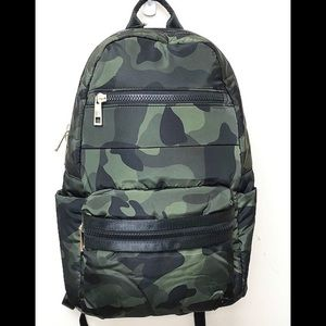Camo Puffer Backpack by SR, NWT